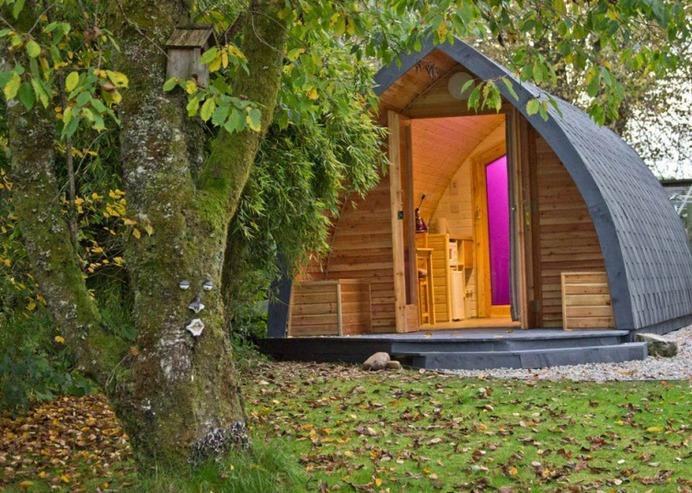 Glamping Holidays Scotland - Great Glen Pod