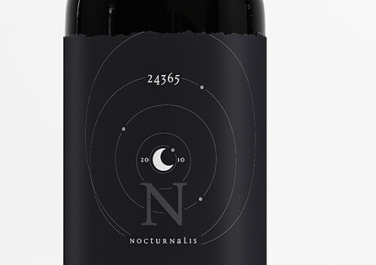 Graphic-ExchanGE - a selection of graphic projects #packaging #marcel #buerkle #black #wine #moon