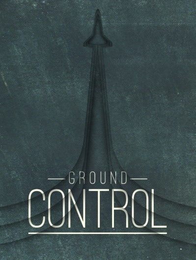 Dribbble - groundcontrol.png by Trent Walton #type #texture #typography