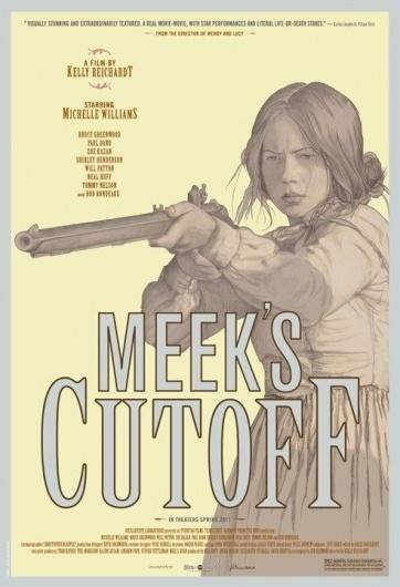 'Meek's Cutoff' poster #illustration #vintage #poster #meeks #cutoff #pastel