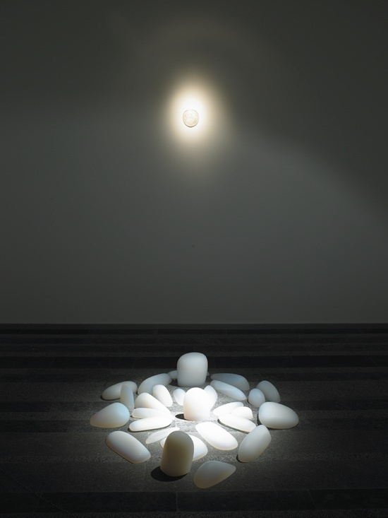 Art exhibition ''Rebirth'' an art instalation Primal memory #21122012 #meditative #exhibition #sculptures #art #doomsday