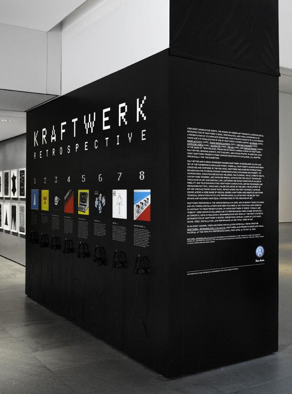 Kraftwerk The Department of Advertising and Graphic Design #typography