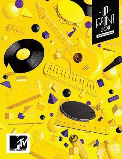 MTV Upfront, POGO | art & design boutique #direction #art