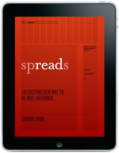 Meet Spreads for iPad #grid #ipad #app #red