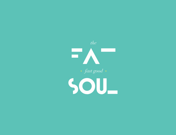 The Fat Soul Logo's #food #restaurant #ristorante #brand #name #logo #soul