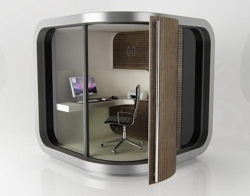 The Rise of the Backyard Office | Design Milk #backyard #office #workspace #outside #officepod