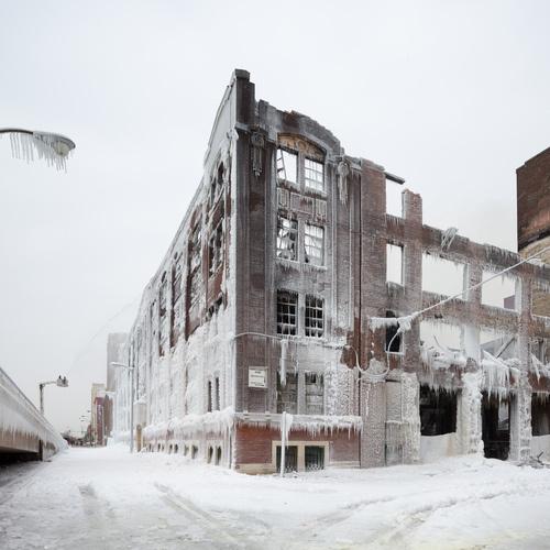 CJWHO ™ #chicago #landcape #design #photography #architecture #nature #fire #warehouse #ice
