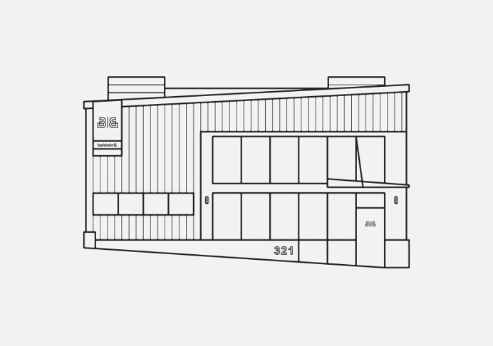 Baldwin& Building Illustration - Paul Tuorto