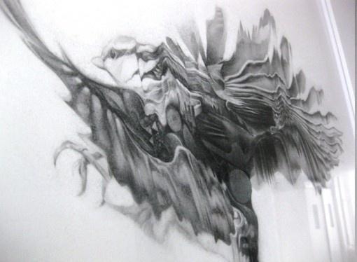 NTHN blog #motion #graphite #drawing #bird