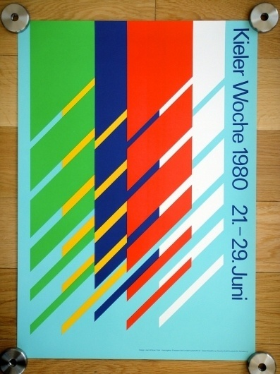 All sizes | Kieler Woche Poster - 1980 | Flickr - Photo Sharing! #international #kieler #typographic #grid #system #poster #jean #woche #widmer #style