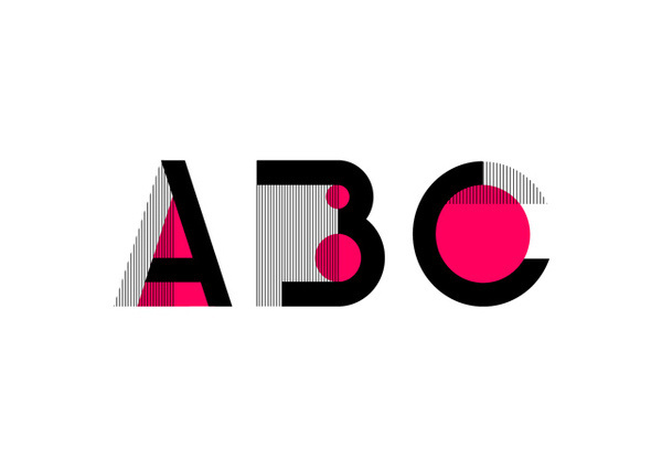 ABC typographical experiment on Typography Served #typography