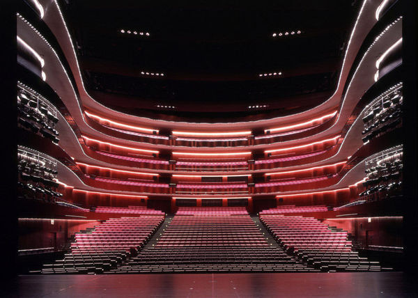 Buamai Key Projects By Toyo Ito Gallery #stage #theater #oper