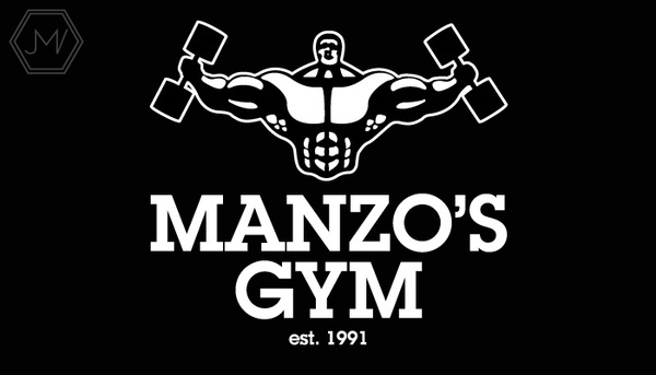 Rebranding a Local Gym on the Behance Network #muscle #strong #weight #white #serif #person #bold #gym #slab #logo #man