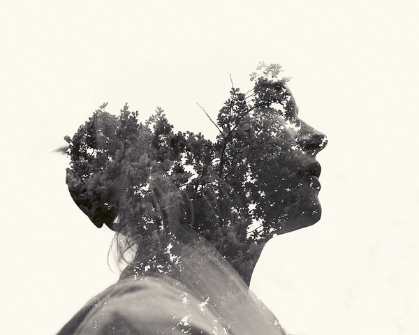 multiple-exposure-nature-portraits-by-christoffer-relander-01 #photo