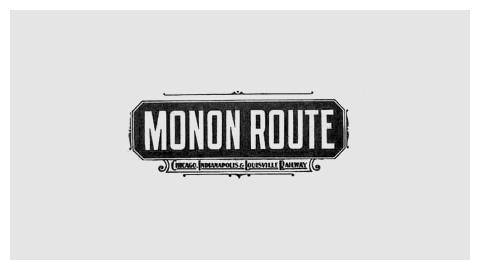 Railroad company logo design evolution #railroad #logo #1901 #monon