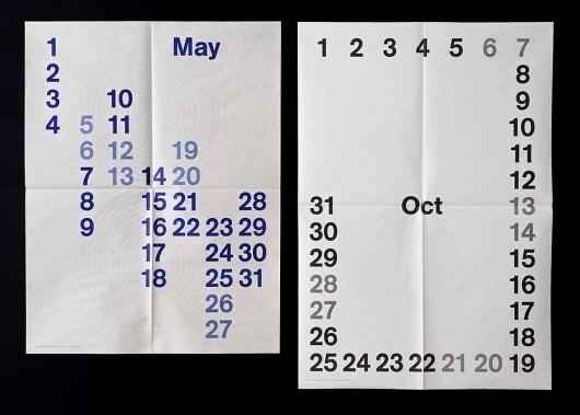 Studio Lin — High-res Special   September Industry #newsprint #calendar #lin #studio #typography