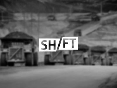 Shift by Sameer Ahmed #logo