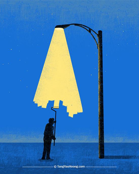 Light-Painter #illustration
