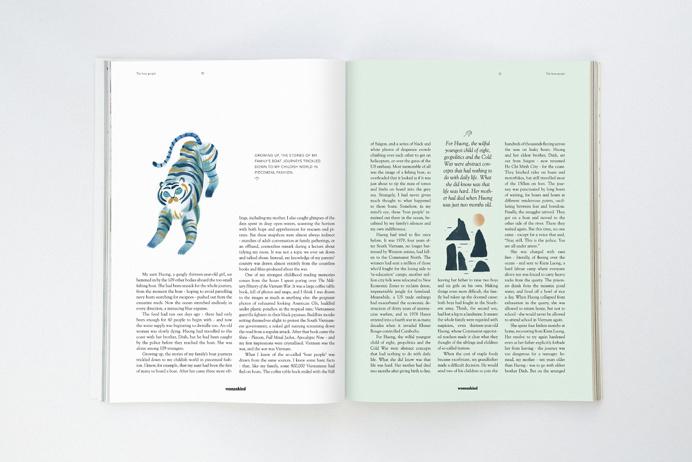 Womankind magazine | Studio Patten
