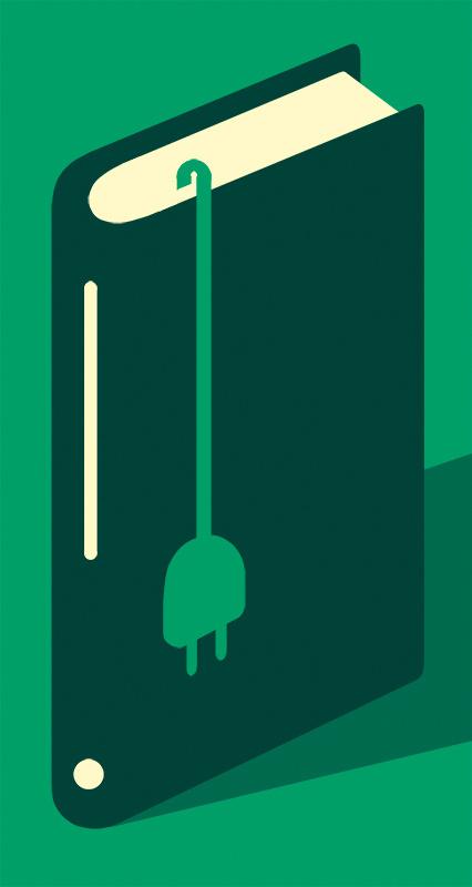 Magoz illustration - connect to reading #illustration