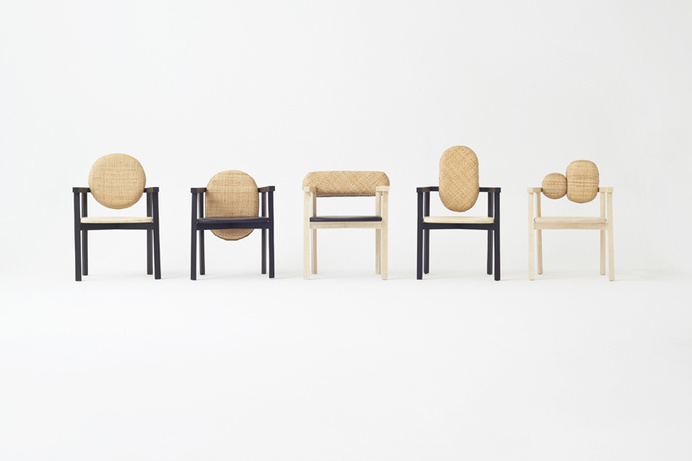 Tokyo Tribal Collection by Nendo #furniture #minimalism #chairs