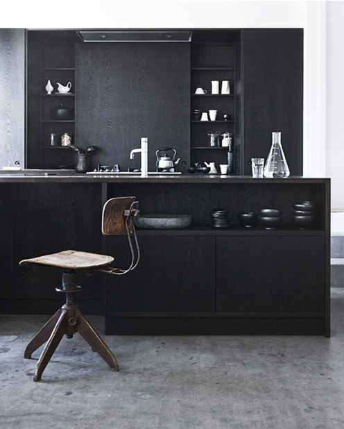 If on a winter's morning #interior #modern #chair #design #kitchen
