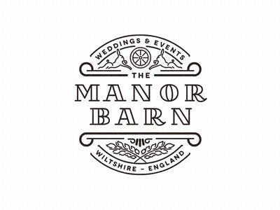 Barn Badge #type #badge #typograhpy #branding