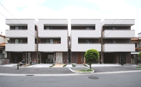 Dezeen » Blog Archive » Numbers House by Mitsutomo Matsunami Architect & Associates #house #osaka #architecture #number #matsunami #mitsutomo #japan