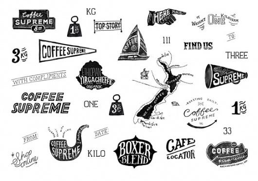 coffee_supreme_rebrand_002.jpg 580×409 pixels #coffee #type #logo