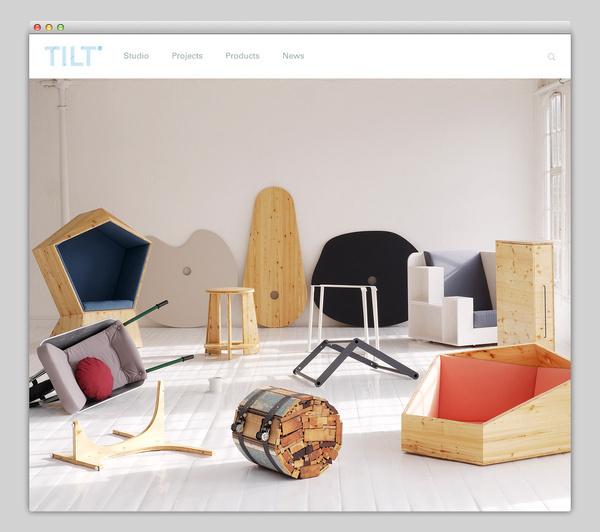TILT #website #layout #design #web
