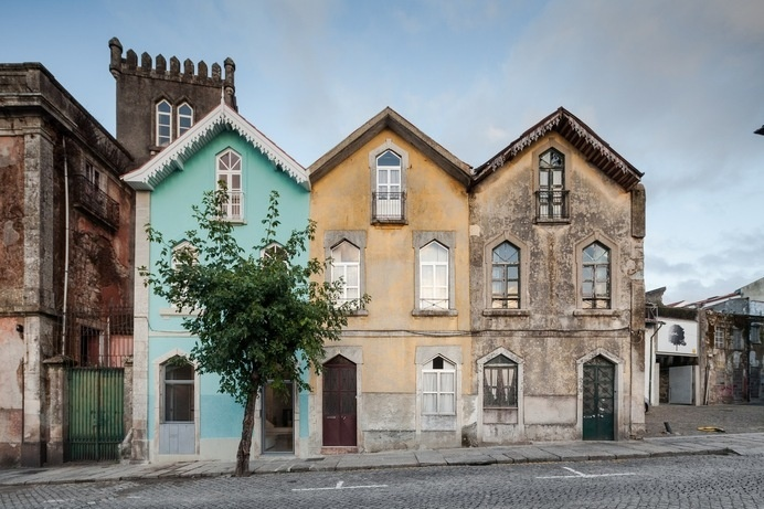 The Three Cusps Chalet | Tiago do Vale Arquitectos | Archinect #three #architecture