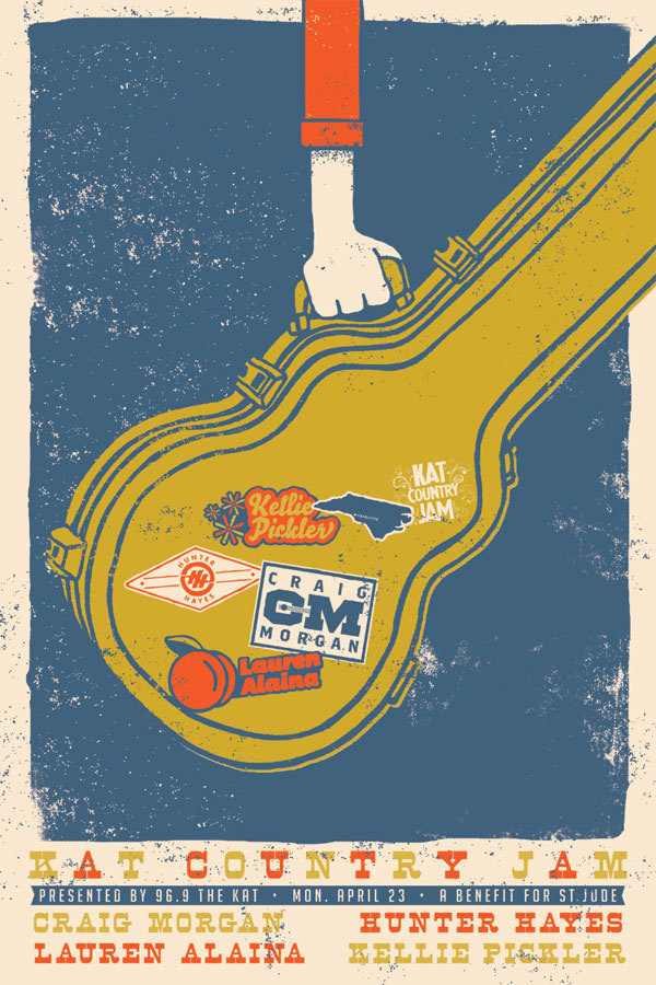 A Showcase of Creative Gig Posters 1 #gig #poster