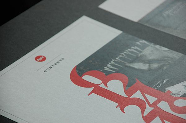 TYPE mag Varsity Crime Wave #index #layout #magazine #typography