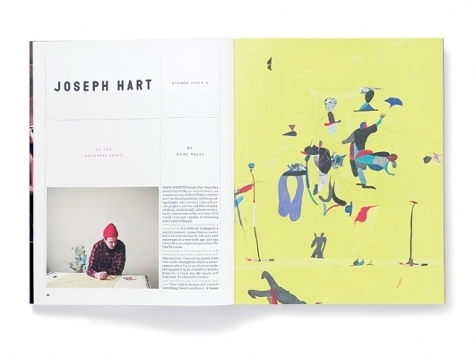 Elephant Magazine: Issue 5 « Studio8 Design #typohgraphy #layout #editorial #magazine