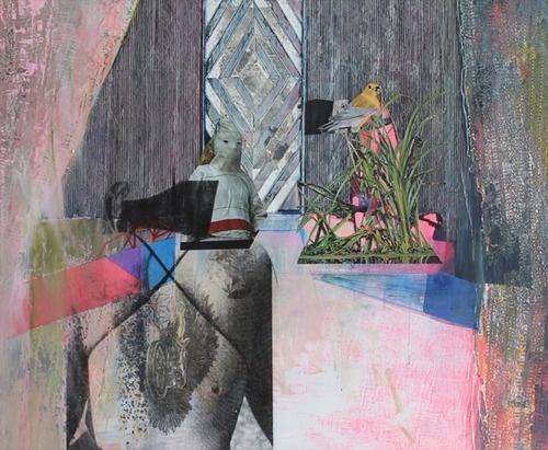 Kristen Schiele « PICDIT #mixed #painting #media #art