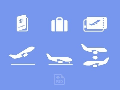 Airport Icons #icon #sign #picto #symbol #airport