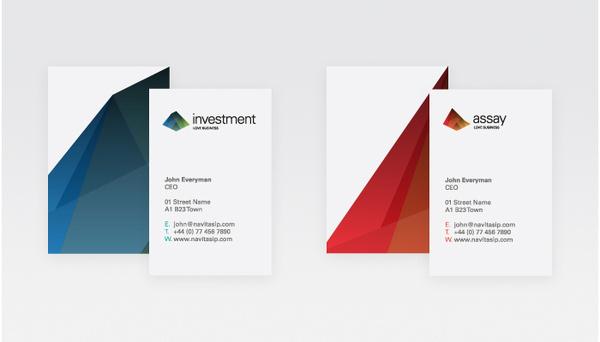 Branding agency award winning design interiors architect brand London #mountain #business #branding #card #color #multi #pitch #identity
