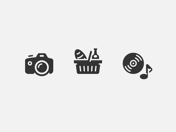 Store icons #icon #pictogram