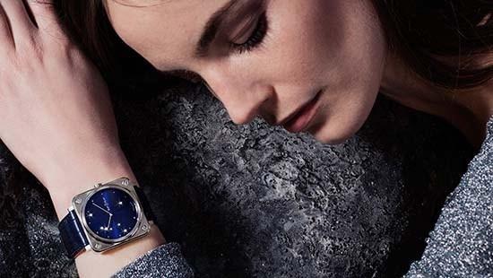 Bell & Ross BR S Diamond Eagle Timepiece #DiamondEagle #BRS #womenswatches #womenswatch #WatchOfTheDay #Stars