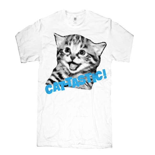 Cat-tastic t-shirt, design by Skip 'N Whistle #printing #design #graphic #shirts