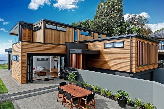 Best Architecture Modern Zealand Storey Dwelling Images On