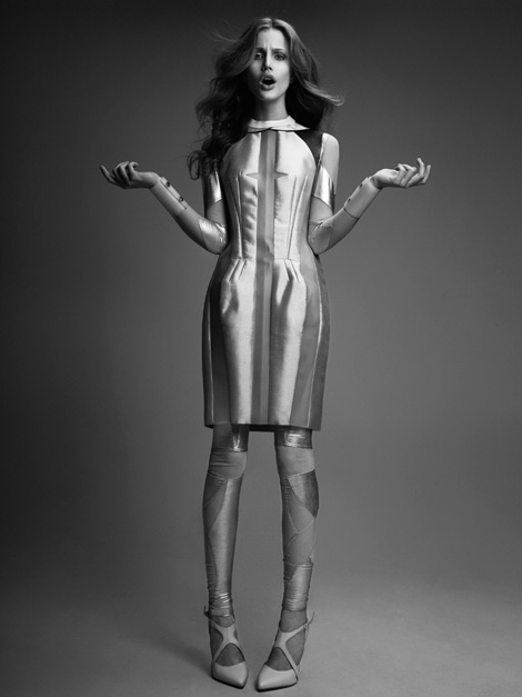 Julie by Łukasz Pukowiec for 1883 Magazine #fashion #model #photography #girl