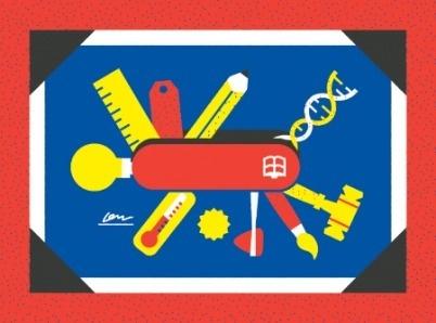 Part & Parcel • The GOOD Guide to College Preparedness #illustration #partparcel