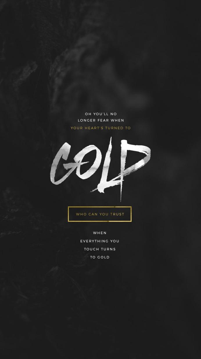 Lockscreens no. 26 – Gold