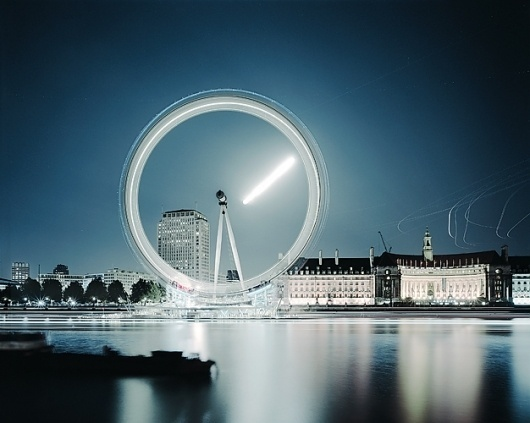 What lies beneath the surface : Guy Sargent #london #eye #photograph