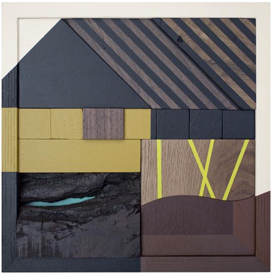 Drew Tyndell #wood #geometric #art