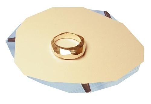 Seb Brown Jewellery — Silver 'Slab' Ring #jewellery