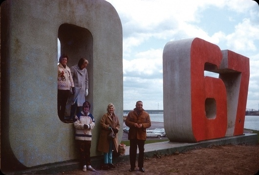 All sizes | Expo 67, Montréal | Flickr - Photo Sharing! #lettering #expo #montreal #1967 #type #3d