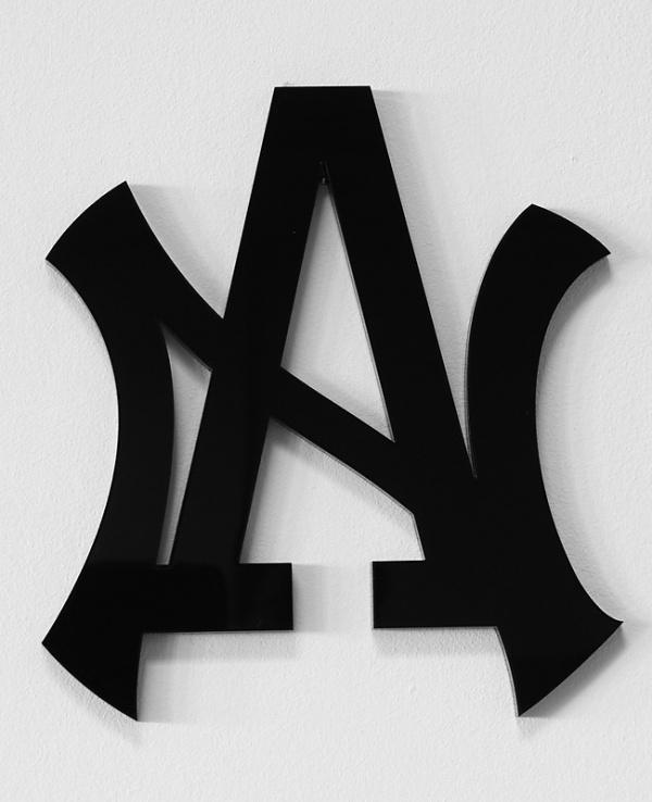 New Angeles #monogram #logo #angeles #new