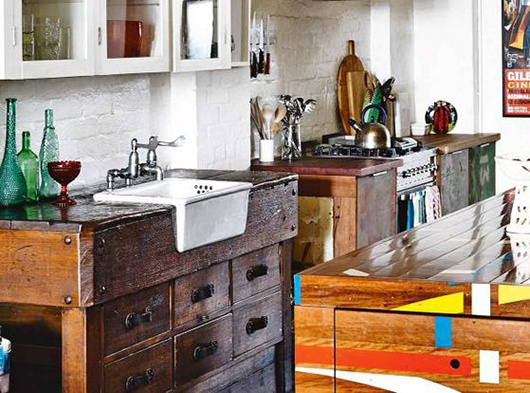 at home with saskia folk / sfgirlbybay #interior #sink #design #decor #kitchen #deco #decoration
